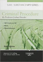 Sum and Substance Audio on Criminal Procedure, 6th (Disc for MP3 Download) - Joshua Dressler