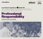 Professional Responsibility, 10th (Law School Legends Audio Series) - Erwin Chemerinsky