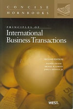 Principles of International Business Transactions : Foreign Investment - Ralph H Folsom