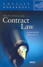 Principles of Contract Law - Robert A Hillman