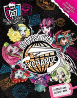 Monster High: Monster Exchange Activity Book : A Creepy-Cool Activity Book - Pollygeist Danescary