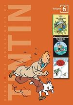 The Adventures of Tintin, Volume 6 : The Calculus Affair, The Red Sea Sharks, and Tintin in Tibet - Herge Herge
