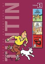 Adventures of Tintin 3 Complete Adventures in 1 Volume: WITH Cigars of the Pharaoh AND The Blue Lotus : Tintin in America - Herge