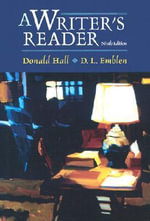 A Writers Reader - Donald Hall