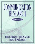 Communication Research - John E. Hocking