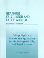 Graphing Calculator and Excel Manual : How to Rescue Someone You Love from the Occult - Lisa S. Yocco