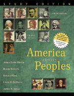 America and Its Peoples: Study Edition v. 1 : A Mosaic in the Making - James Kirby Martin