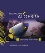 Intermediate Algebra : Concepts and Applications - Marvin L. Bittinger