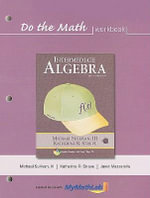 Do the Math Workbook for Intermediate Algebra : Intermediate Algebra - Michael Sullivan