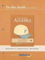 Do the Math Workbook for Elementary Algebra : Elementary Algebra - Michael Sullivan