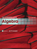 Intermediate Algebra - Marvin L. Bittinger