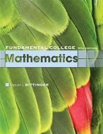 Fundamental College Mathematics : Concepts and Applications - Marvin L. Bittinger