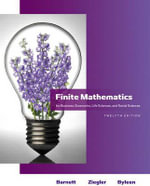 Finite Mathematics for Business, Economics, Life Sciences and Social Sciences : For Business, Economics, Life Sciences, and Social Sciences - Raymond A. Barnett