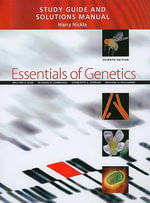 Study Guide and Solutions Manual for Essentials of Genetics : Solutions Manual - William S. Klug