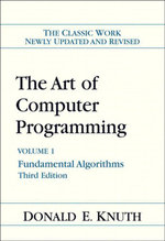 Art of Computer Programming, Volume 1 : Fundamental Algorithms, 3/E - Donald E. Knuth