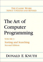 Art of Computer Programming, Volume 3 : Sorting and Searching - Donald E. Knuth
