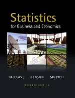 Statistics for Business and Economics - James T. McClave