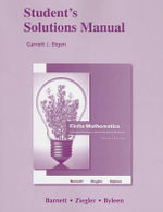 Student Solutions Manual for Finite Mathematics for Business, Economics, Life Sciences and Social Sciences - Raymond A. Barnett