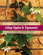 College Algebra and Trigonometry - Margaret L. Lial