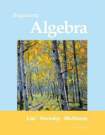 Beginning Algebra :  International Edition - Margaret L. Lial