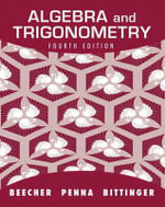 Algebra and Trigonometry : A Right Triangle Approach - Judith A. Beecher