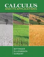 Calculus and Its Applications - Marvin L. Bittinger