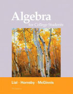 Algebra for College Students - Margaret L. Lial
