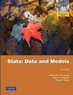 Stats : Data and Models - Richard D. De Veaux
