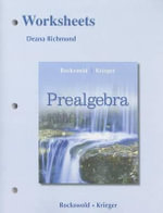 Worksheets for Prealgebra - Gary K. Rockswold