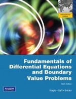 Fundamentals of Differential Equations and Boundary Value Problems : International Edition - R.Kent Nagle