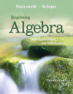 Beginning Algebra with Applications & Visualization - Gary K. Rockswold