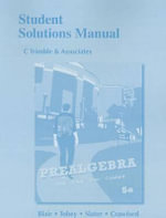 Student Solutions Manual for Prealgebra - Jamie Blair