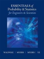 Essentials of Probabilty & Statistics for Engineers & Scientists - Ronald E. Walpole
