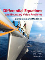 Differential Equations and Boundary Value Problems : Computing and Modeling - C. Henry Edwards