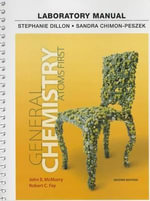 Laboratory Manual for General Chemistry : Atoms First - John E. McMurry