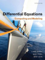 Differential Equations : Computing and Modeling - C. Henry Edwards