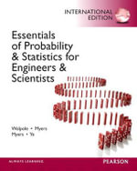 Essentials of Probability & Statistics for Engineers & Scientists - Ronald E. Walpole