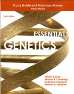 Study Guide and Solutions Manual for Essentials of Genetics - William S. Klug