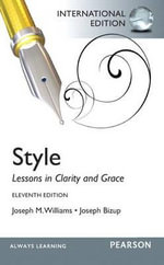 Style : Lessons in Clarity and Grace - Joseph M. Williams