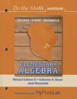 Do the Math Workbook for Elementary Algebra - Michael Sullivan