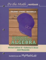 Do the Math Workbook for Elementary & Intermediate Algebra - Michael Sullivan
