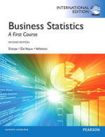 Business Statistics : A First Course - Norean R. Sharpe