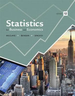 Statistics for Business and Economics with Access Code - James T McClave