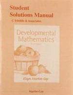 Student Solutions Manual for Developmental Mathematics - Elayn Martin-Gay