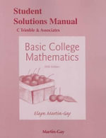 Student's Solutions Manual for Basic College Mathematics - K. Elayn Martin-Gay