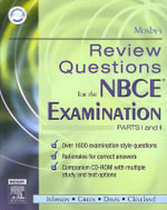 Mosby's Review Questions for the NBCE Examination : Pts. 1 & 2 - Mosby