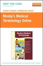 Mosby's Medical Terminology Online - Retail Pack - Mosby