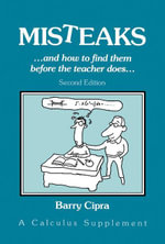 Misteaks : And How to Find Them Before the Teacher Does - Barry Cipra