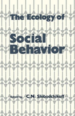 The Ecology of Social Behavior - UNKNOWN AUTHOR