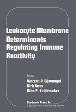 Leukocyte membrane determinants regulating immune reactivity